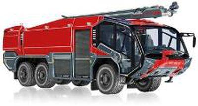ローゼンバウアー FLF パンサー 6x6 消防車両 消火アーム