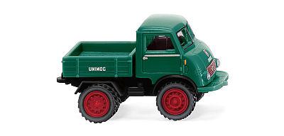 ウニモグ U 401 with twin tyres モスグリーン