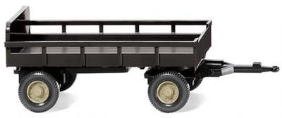 農業用トレーラー ブラウン