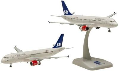 A320 SAS スカンジナビア航空 ランディングギア・スタンド付属