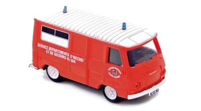 プジョー J7 1968 消防車