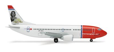 B737-300 ノルウェイ エアーシャトル 「Sonja Henie」 (LN-KKJ) ノルウェイ