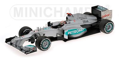 メルセデス AMG ペトロナス F1 チーム W03 M.シューマッハ ベルギーGP 2012 F1参戦300勝目