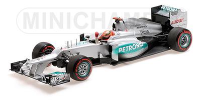 メルセデス AMG ペトロナス F1チーム W03 M.シューマッハ モナコGP ポールポジション 2012