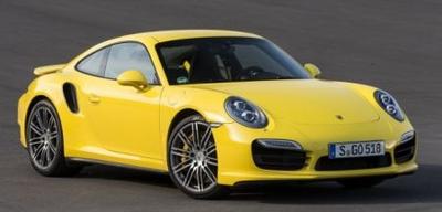 ポルシェ 911 ターボ S (991) 2013 イエロー/シルバーホイール 限定300台