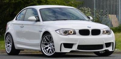 BMW 1er M クーペ 2011 ホワイト(アルピナホワイト) 限定1002台