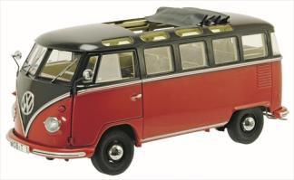 VW T1 サンバ ダークブラウン/レッド