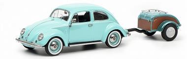 VW ビートル Ovali ターコイズ トレーラ付