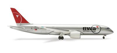 B787-8 ノースウェスト航空(駐機状態) アメリカ