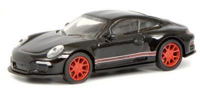 ポルシェ 911 R ブラック/レッド