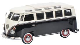 VW T1c サンバ ブラック/ホワイト