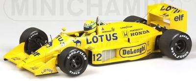 ロータス ホンダ 99T A .セナ 1987