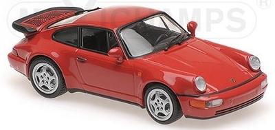 ポルシェ 911 ターボ 1990 レッド