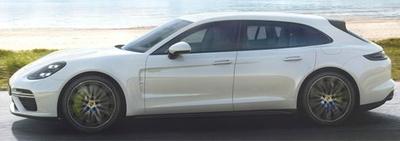 ポルシェ パナメーラ スポーツ ツーリスモ ターボ S 2017 ホワイト