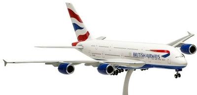 A380 ブリティッシュ・エアウェイズ ランディングギア/スタンド付