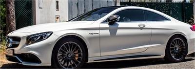 メルセデス AMG S65 クーペ 2017 ホワイト