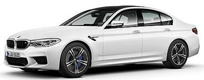 BMW M5 2018 ホワイト