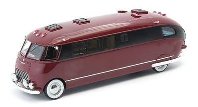 Johnson Wax House Car 1939 ダークレッド