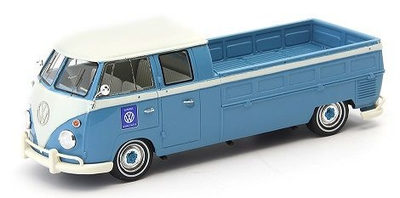 VW T1 double cabin - pick up truck 1961 ブルー/ホワイト