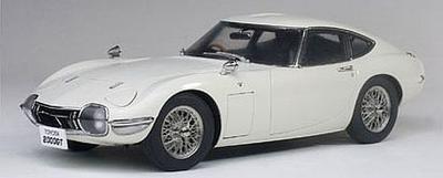 トヨタ 2000GT ワイヤースポークホイール バージョン (ホワイト)