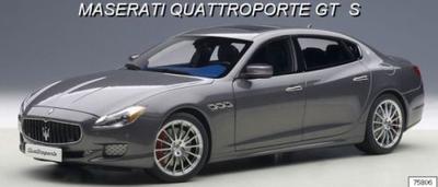 マセラティ クアトロポルテ GT S (グレー)