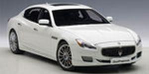 マセラティ クアトロポルテ GT S (ホワイト)