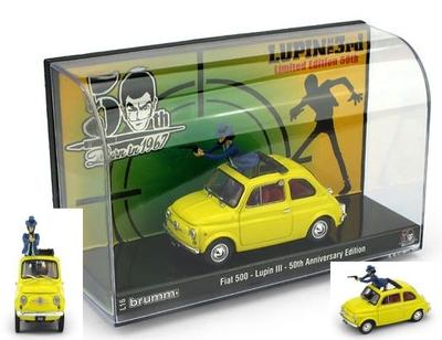 フィアット 500F Wanted ルパン3世 50周年記念エディション