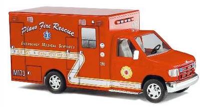 Ford E-350 Plano Fire Rescue Texas