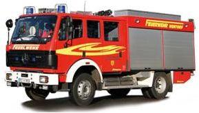 Fire Truck Mercedes-benz MK 94 HO