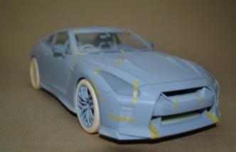 日産  GT-R 2017 アルティメイトメタルシルバー