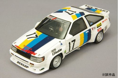 トヨタ カローラ レビン N2 1985年 カローラ/スプリンター・グランドカップ #17 トラストレビン 人見隆作