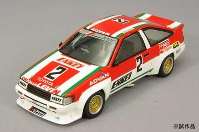 トヨタ カローラ レビン N2 1985年 カローラ/スプリンター・グランドカップ #2 ENKEIカローラ 鈴木恵一