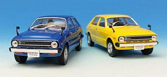 ダイハツ シャレード G10 1977 ブルー