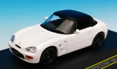 スズキ カプチーノ 1991 ホワイト (クローズトップ)