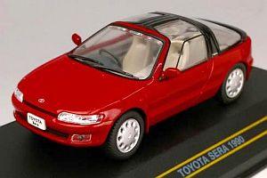 トヨタ セラ 1990 レッド