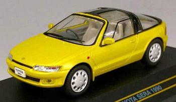 トヨタ セラ 1990 M・ライト・グリーン