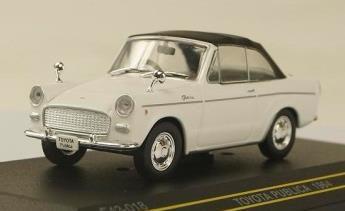 トヨタ パブリカ コンバーチブル 1964  ホワイト (幌付き)