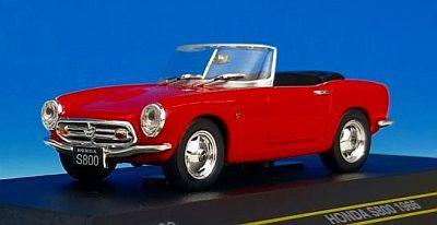 ホンダ S800 1966  オープンルーフ レッド