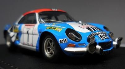 Alpine Renault A110 1800 (#1) 1973Tour