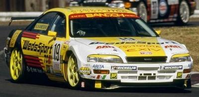 WedsSport EXiV (#19) 1998 JTCC  98年ドライバーズランキング2位