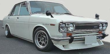 Datsun Bluebird SSS(N510) Hayashi Wheel  White