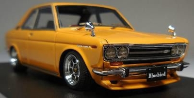 Datsun Bluebird Coupe (KP510) Brown