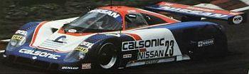 CALSONIC Nissan R89C(#23) 1989 JSPC