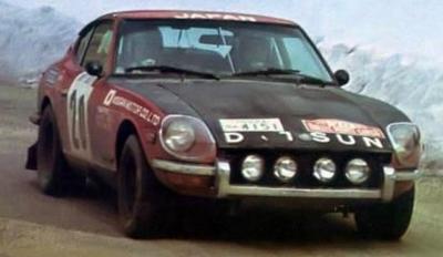 Datsun 240Z (#20) 1972 Monte Carlo