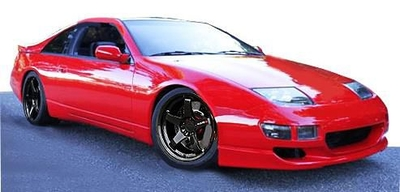 Nissan Fairlady Z(Z32)2by2 Red