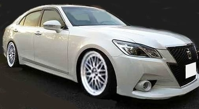 Toyota Crown Hybrid Athlete G (GRS210)   Pearl White