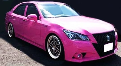 Toyota Crown Hybrid Athlete G (GRS210)   Pink