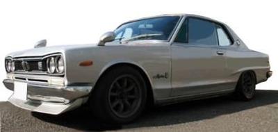 Nissan Skyline 2000 GT-X (KGC10) Silver  ※Watanabe-Wheel