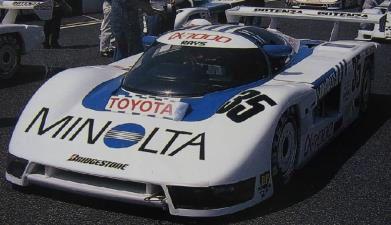 MINOLTA Toyota TOM'S 85C (#35) 1986 JSPC