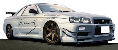 Nissan Skyline GT-R Mine's (R34) Silver